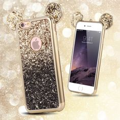 Fashion 3D Mickey Mouse Case For Iphone 6 6S 7 Plus 5S Rhinestone Glitter Silicone Case Coque For Iphone 6S Plus Luxury Cover | iPhone Covers Online