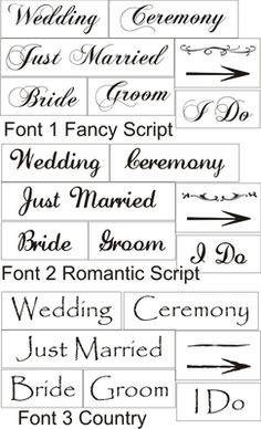 scrappinalong wedding signs stencil set bride groom i do manufacturer scrappin along craft stencils sku 792 price 1300 1300 font 1 fancy