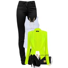 Electric Avenue by autumnsbaby on Polyvore featuring Tusnelda Bloch, T By Alexander Wang, Boohoo, Marc Jacobs, Bee Charming and Michael Kors