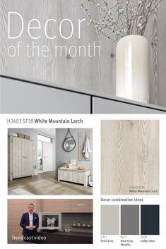 Decor of the month: 2019 June Grey And Beige, Warm Grey, Blue Grey, Real Wood, Bathrooms, Aqua, Metallic, It Is Finished, Mountain