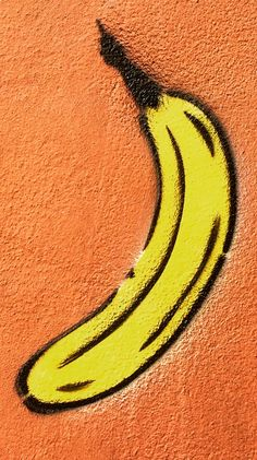 German artist Thomas Baumgärtel sprays bananas onto the walls of art Exhibition spaces. Read the story behind the fruit. 3 Tattoo, Environmental Graphics, Exhibition Space, Sprays, Graffiti, Stencils, Germany, Walls, Fruit
