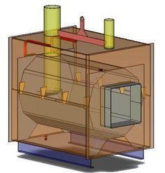 outdoor wood boiler from junk off grid pinterest wood boiler