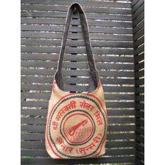 Jute Bag -Mandolin Jute Bags, Mandolin, Hand Stitching, Women's Accessories, Women Accessories