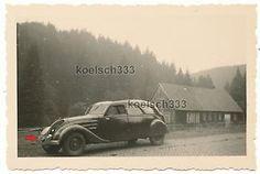 Foto-Peugeot-402-PKW-Kfz-Kennzeichen-Britische-Besatzungzone-Niedersachsen-Harz