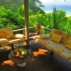The Best rental house in front of the beach at @Finca Exotica Eco lodge #CostaRica