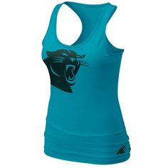 5c03ec5cc Nike Carolina Panthers Women s Big Logo Tri-Blend Tank - Panther Blue  Panthers Football