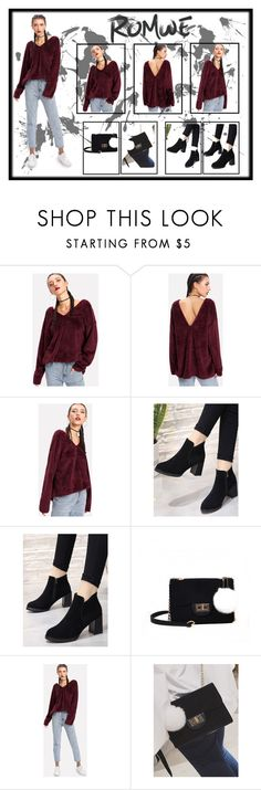 """""""ROMWE: Armina's style"""" by armina-saric ❤ liked on Polyvore"""