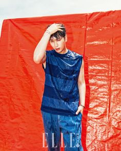 2PM Chansung - Elle Magazine July Issue '16
