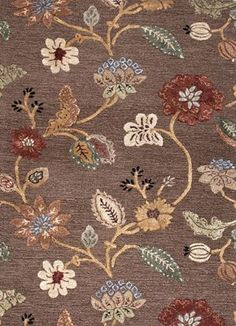 BL45 - Blue Rugs  Cocoa Brown in by Jaipur