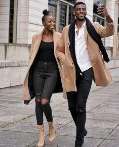 Matching Couple Outfits, Matching Couples, Black Love Couples, Cute Couples, Couples African Outfits, Black Relationship Goals, Stylish Couple, Fashion Couple, Lady