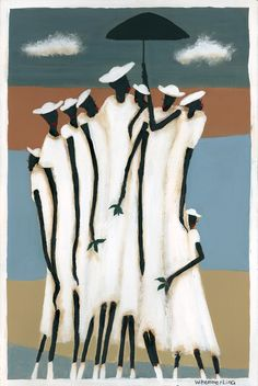 'Family Gathering' - by William Hemmerling - Giclee on Canvas