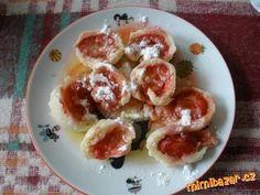 Arabelčiny tvarohové ovocné knedlíky, těsto se nelepí