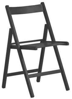 HOME-Wooden-Folding-Chair-Choice-of-Black-Natural-Red-From-Argos