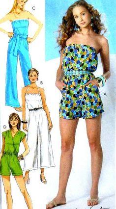 Combinaison Sewing Pattern UNCUT McCalls M6083 taille 4-12