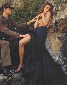 Natalia Vodianova for the Pirelli Calendar, 2003.
