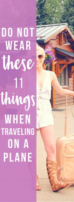 Do Not Wear These 11 Things When Traveling on a Plane, travel outfit, travel tips, travel hacks, plane outfit, plane hacks, plane tips, what to wear on a plane