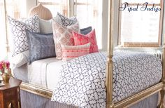 Sweet dreams with John Robshaw bedding!