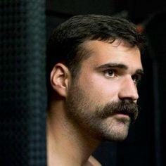 thick moustache mens