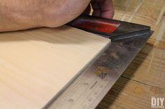 Make sure cuts are square.