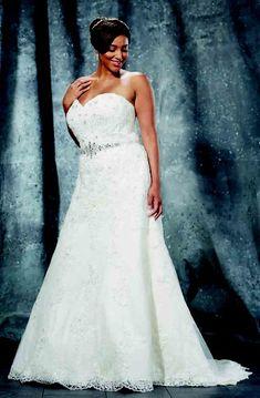 9c2e8a16b3 A-Line Floor-Length Sweetheart Sleeveless Lace Sweep Train Lace-Up Back  Waist Jewellery Dress