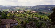 Valley in San Gimignano, Tuscany Under The Tuscan Sun, Florence Tuscany, Heaven, San, France, River, Outdoor, Outdoors, Outdoor Games
