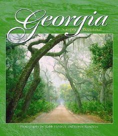 Georgia Simply Beautiful (2002, Hardcover) Photography Coffee Table Book Atlanta