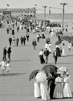 Jersey shore, 1905