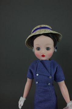 "(2) 20"" M.A. VINYL YARDLEY CISSY DOLLS - by McMasters Harris Appletree Doll Auctions"