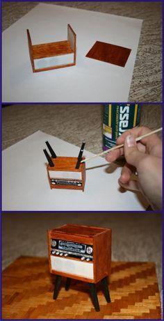 """Создаем винтажный радиоприемник """"Ригонда 102"""" - Ярмарка Мастеров - ручная работа, handmade"""