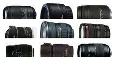 30 Most Popular DSLR Lenses
