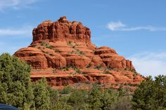 To see red rock against blue sky.  Sedona, Arizona