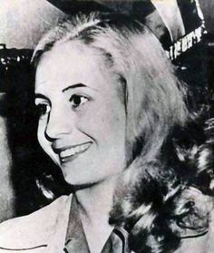 Eva Peron - Inspired millions with her campaigns to help the poor and give women the right to vote. #inspirational # women