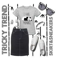 """""""Tricky trend 4"""" by depolo-marina ❤ liked on Polyvore featuring Dot & Bo, Abercrombie & Fitch, Topshop, Gucci, John Hardy, Ksubi, TrickyTrend and pencilskirt"""