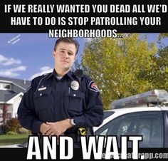 Maybe the police SHOULD stay out of BLM neighborhoods. Let these brainiacs work out their own problems, then arrest whoever is left standing.