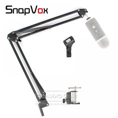Free Shipping Suspension Scissor Arm Stand For Blue Yeti Table Desk Top Recording Microphone Stand Boom Clip Holder Mount Clamp  Price: 47.90 & FREE Shipping  #fashion #sport #tech #lifestyle Blue Yeti, Home Tech, Stand Design, Table Desk, Clamp, Consumer Electronics, Arm, Free Shipping, Lifestyle
