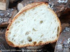 Gunnison River Bread, aufgeschnitten. Herstellung mit Poolish/ 12 Std. Vorlaufzeit