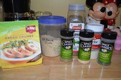 My Go To Gluten Free Breadcrumbs