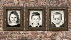Three Kids. Creative Family Photography, by Virginia Angus, Denver, Colorado. http://raffiaroses.com