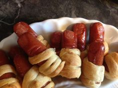 Finger dogs for zombie party