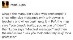 The marauders Remus Lupin Sirius black James potter Peter pettigrew wolfstar