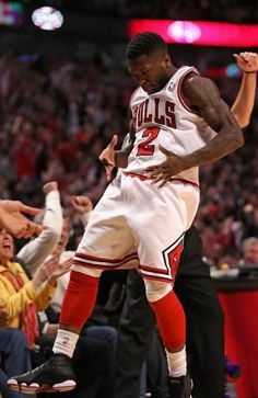 Nate Robinson excited
