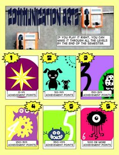 Gamifying your classroom with Comic Life and achievement points!