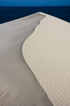 Sand Dune at De Hoop Nature Reserve    Photo and caption by Fred Turck    De Hoop Nature Reserve in the Southern Cape area of South Africa