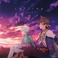 """Tales of Zestiria the X (Anime)"" Outro Main Theme Song: calling [Anime Edition] http://www.cdjapan.co.jp/aff/click.cgi/PytJTGW7Lok/586/A505690/product%2FLACM-14510"