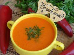 Kırmızı Biber Çorbası Resimli Tarifi - Yemek Tarifleri