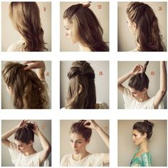 Image de hair, hairstyle, and diy