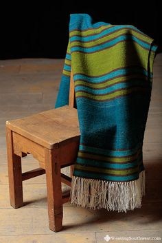 Your Daily Dose of Inspiration! Handwoven Blanket by Bayeta Sheep & Wool. Loom Weaving, Hand Weaving, Fibre And Fabric, Sheep Wool, Decoration, Textile Art, Fiber Art, Textiles, Blanket