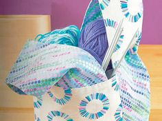 Tutoriale DIY: Cómo hacer una bolsa de manualidades vía DaWanda.com