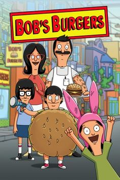 "Bob's Burgers (2011)    Bob's Burgers follows a third-generation restaurateur, Bob, as he runs Bob's Burgers with the help of his wife and their three kids. Bob and his quirky family have big ideas about burgers, but fall short on service and sophistication. Despite the greasy counters, lousy location and a dearth of customers, Bob and his family are determined to make Bob's Burgers ""grand re-re-re-opening"" a success."