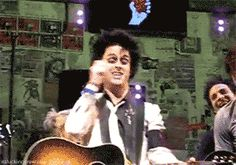 Green Day. Billie Joe Armstrong. fuuuck you